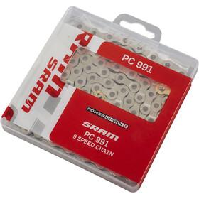 SRAM PC-991 Power Chain II Kette 9 fach silber